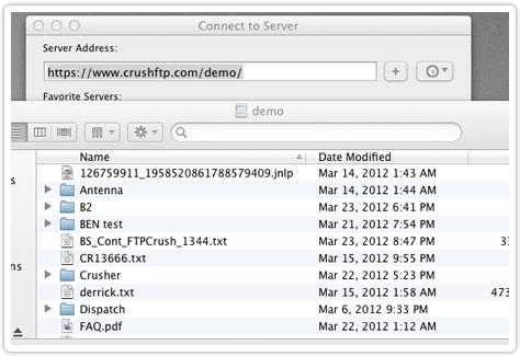 CrushFTP - Features